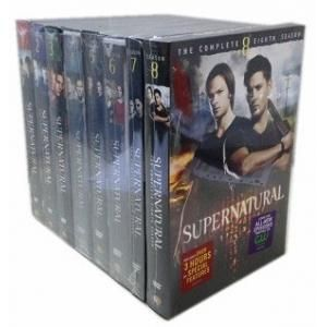 Supernatural Seasons 1-8 DVD Box Set I already have seasons 1-3 & 7 but I don't have any of the others