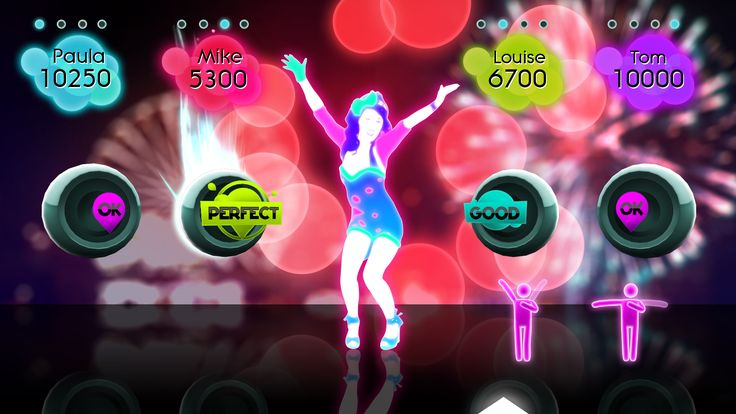 Just dance 2 girl dancing to Katy Perry Firework