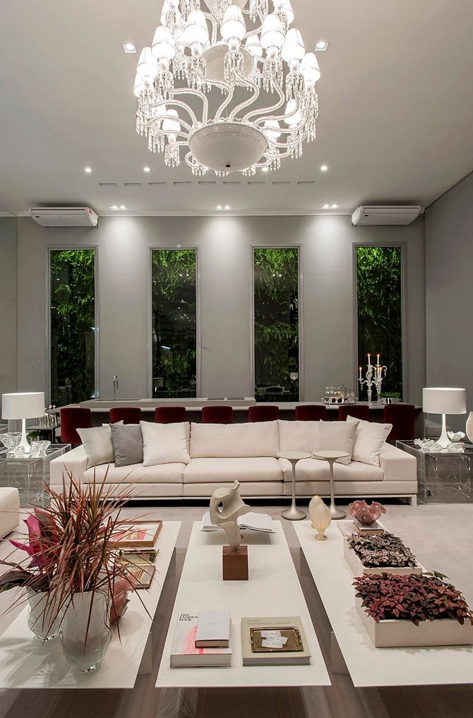 Luxury Living Casa Cor RS designed by Lidia Maciel.