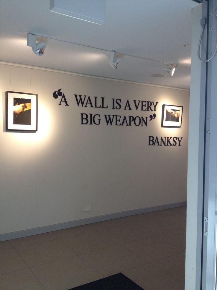 banksy+quotes | banksy