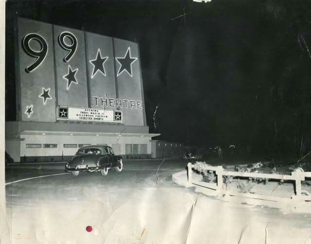 99 Drive In Theatre Bakersfield California Right Next To Hwy Back Then Central Valley