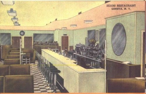 Restaurant Retro Cafe