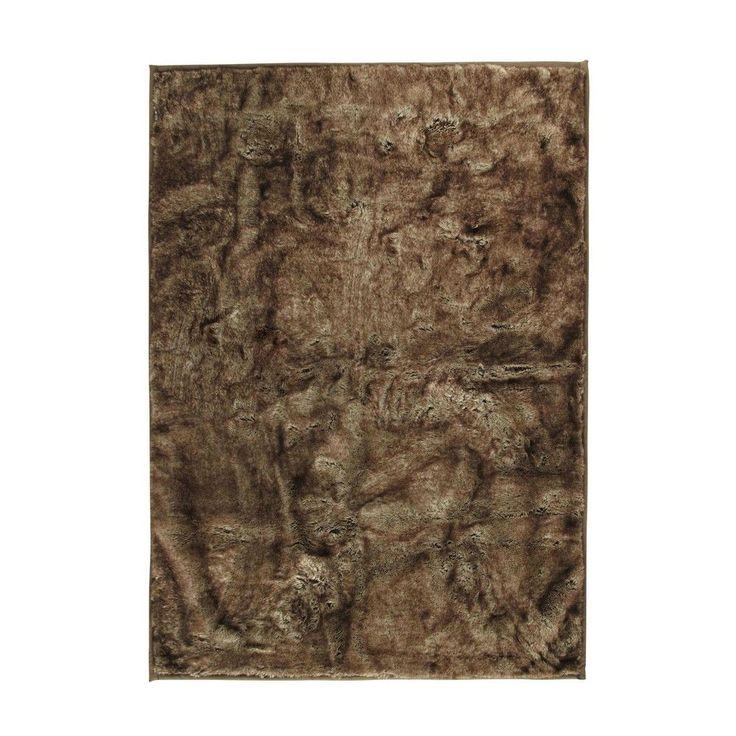 Tapis en fausse fourrure 140 x 200 cm SOFIELD