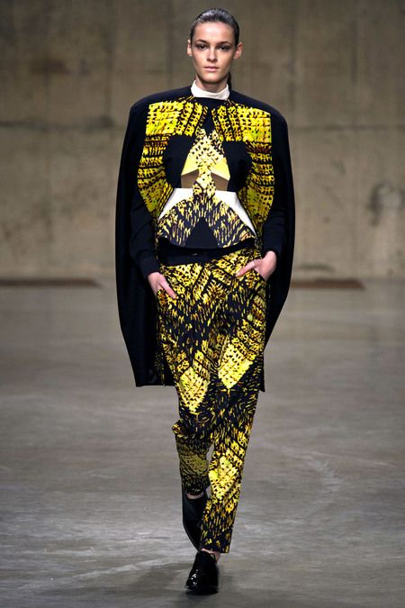 Peter Pilotto on the Runway.  No comment required.