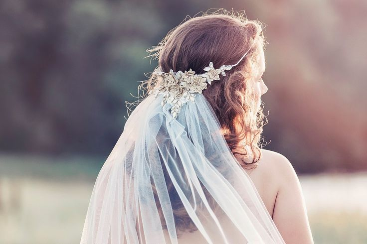 Ethereal and fairytale inspired bridal accessories by Gadegaard Design.