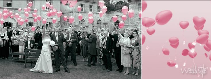 Helium Luftballons für Hochzeit kaufen