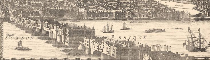 London-Bridge -1682