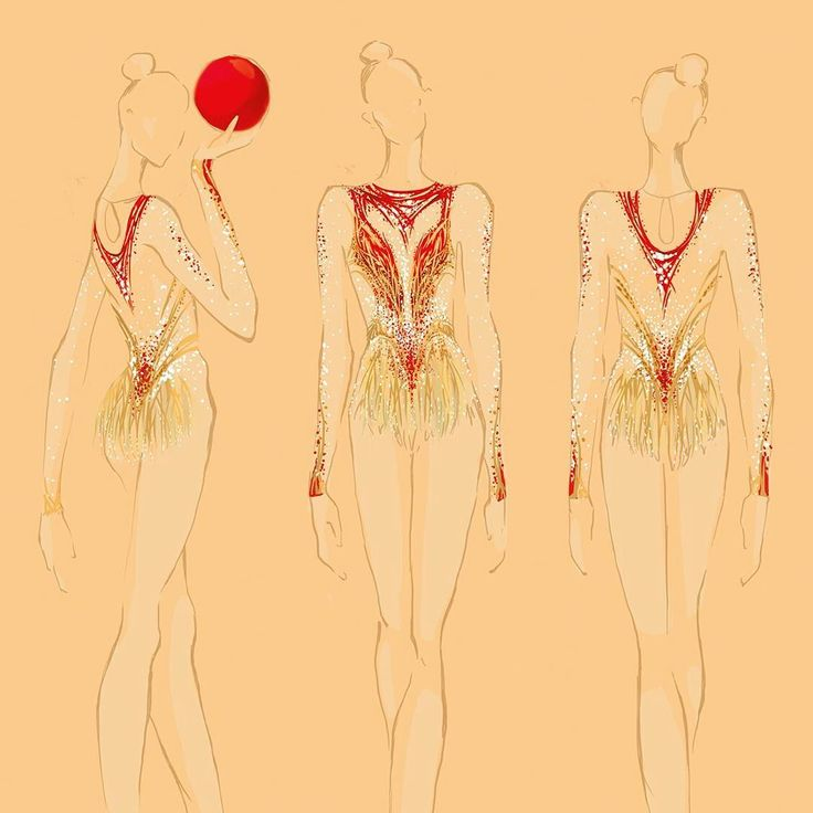"""106 Likes, 7 Comments - @i.iuliia on Instagram: """"#sketch #rhythmic #rhythmicgymnastics #rhythm #rhythmicgymnasticleotard #leotard #maillots…"""""""