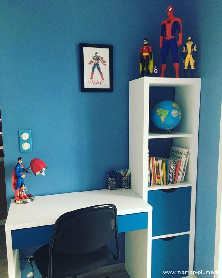 10 best chambre garcon super heros images on pinterest child room kids rooms and play rooms. Black Bedroom Furniture Sets. Home Design Ideas