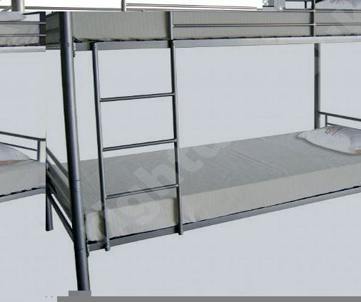 Right Deals UK Florida Metal Bunk Bed 2 x 3ft Singles Silver Powder Coated Frame No description (Barcode EAN = 5632575864173). http://www.comparestoreprices.co.uk/bunk-beds/right-deals-uk-florida-metal-bunk-bed-2-x-3ft-singles-silver-powder-coated-frame.asp