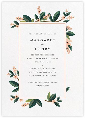 The 25 best wedding invitations ideas on pinterest writing november herbarium invitation paperless post stopboris