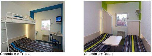 Hôtel : Formule 1 devient hotelF1