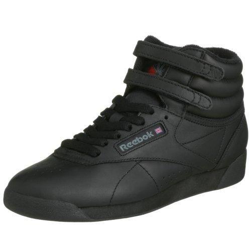Oferta: 64€. Comprar Ofertas de Reebok Freestyle Hi - Zapatillas de cuero para mujer, color negro (int-black), talla 42.5 barato. ¡Mira las ofertas!