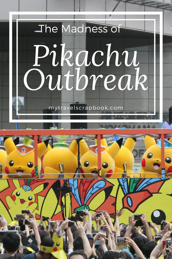 Giant Pikachus, tiny pikachus, dancing Pikachus, Pikachus on stilts, Pikachus with water guns, cuddly Pikachus, Pikachu hats, Pikachu posters, Pikachu everywhere! Read this post to find out what to expect when visiting Yokahama's Pikachu Outbreak festival! #pikachu #madness #yokahama #japan #tokyo