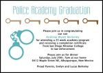 Add creative, unique, and exclusive announcement invitation wordings to your police academy, law enforcement, criminal justice, and forensic graduates using sample words at http://www.graduationcardsshop.com/criminal-justice-law-enforcement-paralegal-legal-assistant-graduation-wording.htm