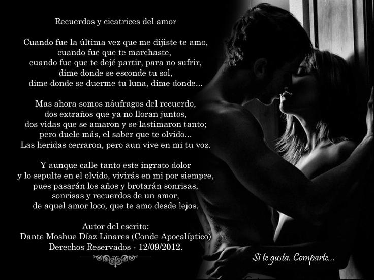 Conde Apocalíptico: Recuerdos y cicatrices del amor...