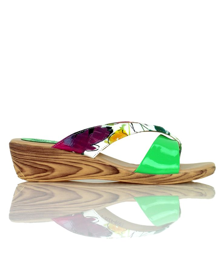 Margarita - Playful wedge sandal from our Cocktails on the Beach range