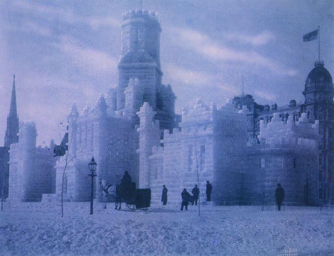 The 1884 Montreal Ice Palace injoy heather  Winter  Ice