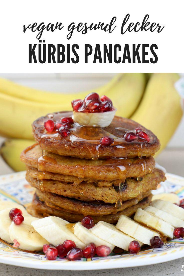 Gesunde Pancakes mit Kürbis