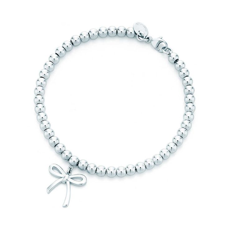 Bow bracelet in sterling silver. #TiffanyPinterest