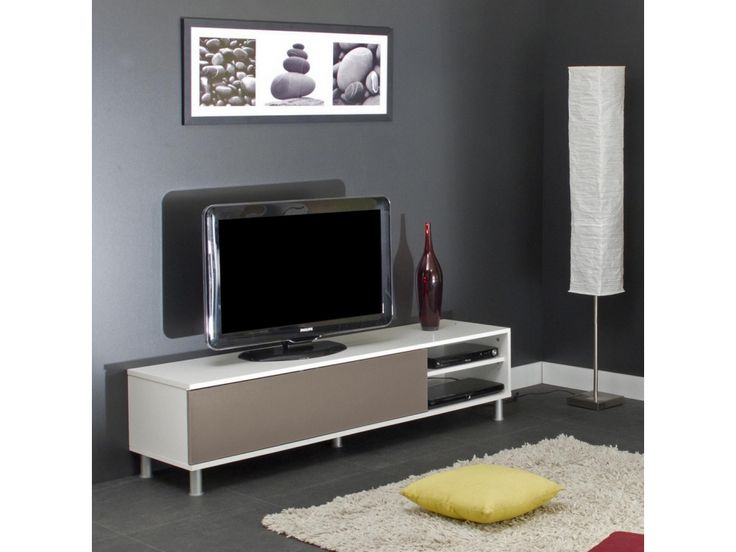 11 best meuble tv images on Pinterest Murals, Salons and DIY - meuble tv avec rangements