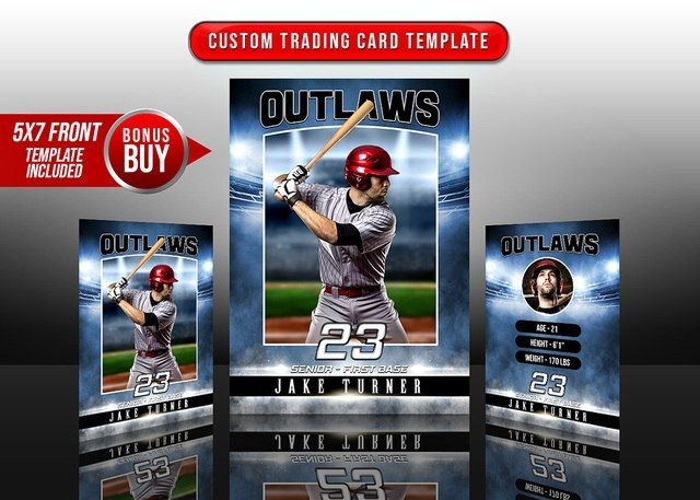 Sports Trading Cards And 5x7 Template Sports Stadium Trading Card Template Sports Stadium Trading Cards