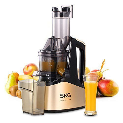 SKG Slow Masticating Juicer Extractor with Wide Chute (240W