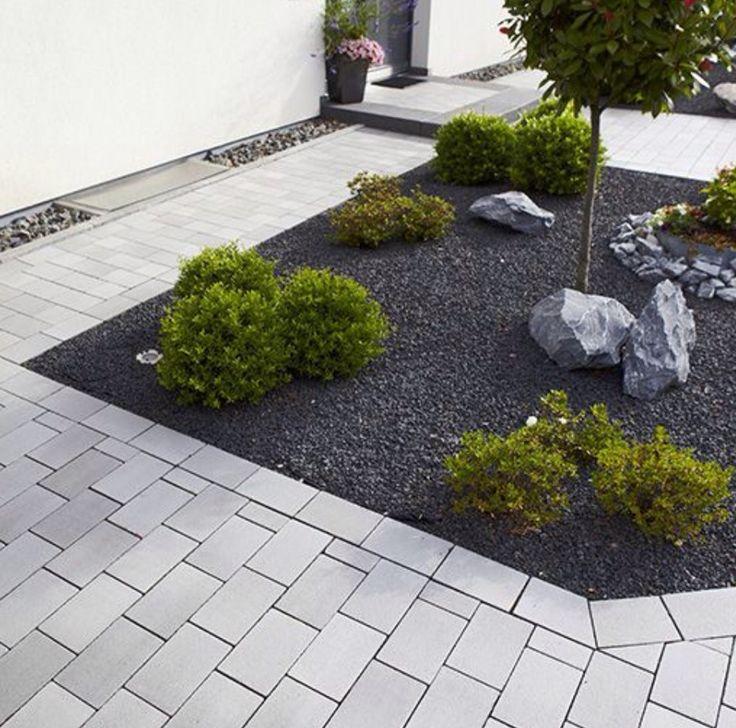 Steingarten - Gartenideen - Gartentipps - moderner Garten