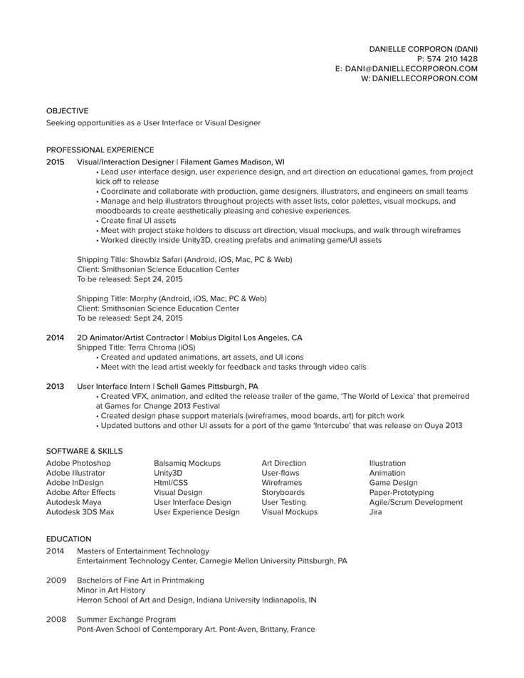 80 best images about resume cv on pinterest