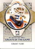 2009 ITG BETWEEN THE PIPES #86 GRANT FUHR +FREE Shipping!!