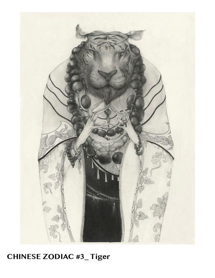 Chinese Zodiac - Lu Ke Art