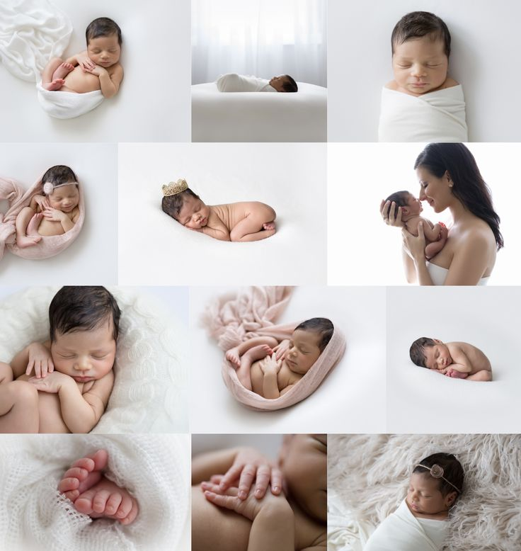 Natural Newborn Photography Poses