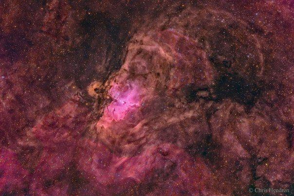 Гнездо туманности Орла / Популярная астрономия