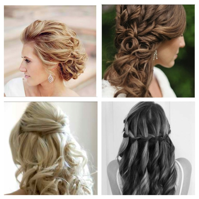 Brilliant Hairstyles For Bridesmaids Hairstyles And Bridesmaid On Pinterest Hairstyle Inspiration Daily Dogsangcom