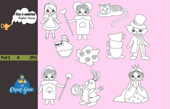 Mad Hatter Tea Party Clip Art - Cliparts.co
