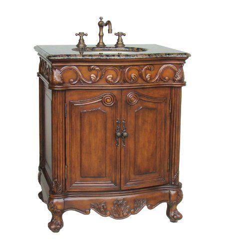 27 powder room hayman bathroom sink vanity ba 2917sb