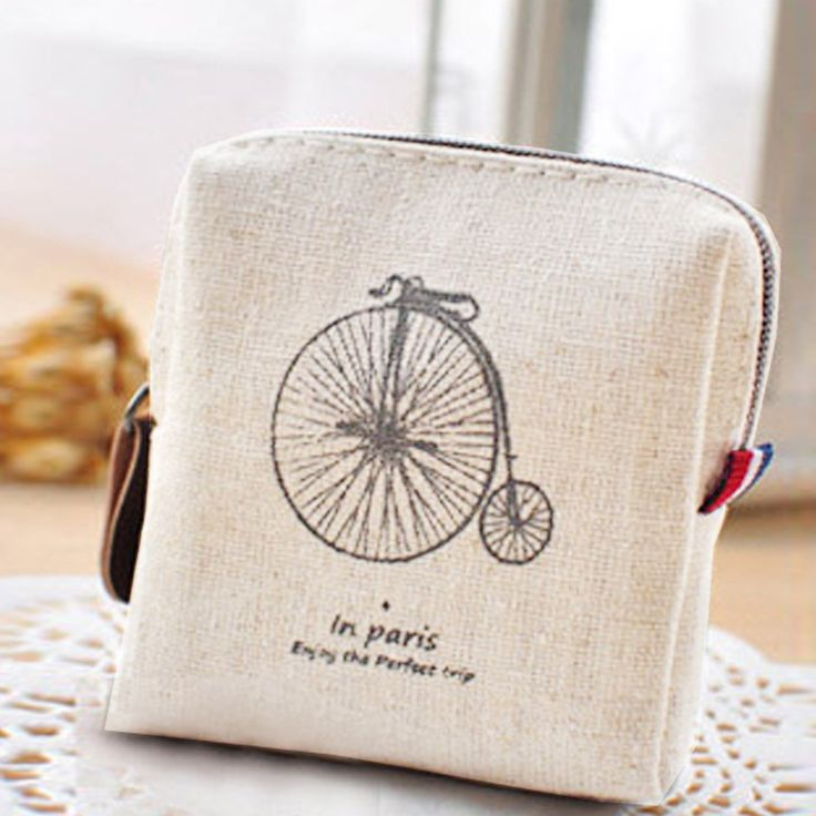 Classic Lightweight Retro Canvas Purse Wallet Card Key Coin Bag Pouch Case multifunctional durable  fashionable portable