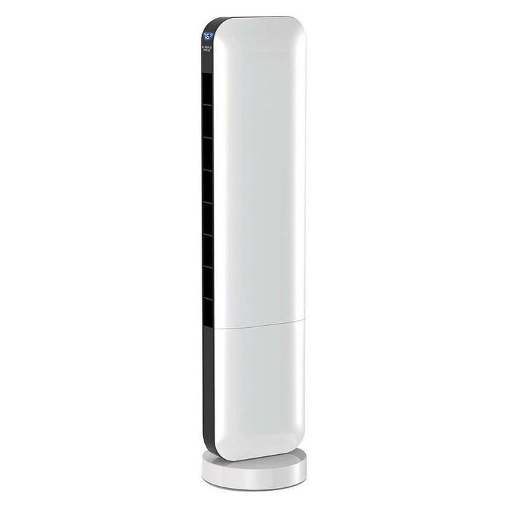 The Sharper Image 36-Inch Tower Fan with Touch Controls & Remote, White