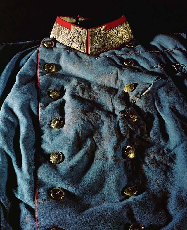 Archduke Franz Ferdinand's bloodstained coat  https://i.imgur.com/wtJKtIQ.jpg