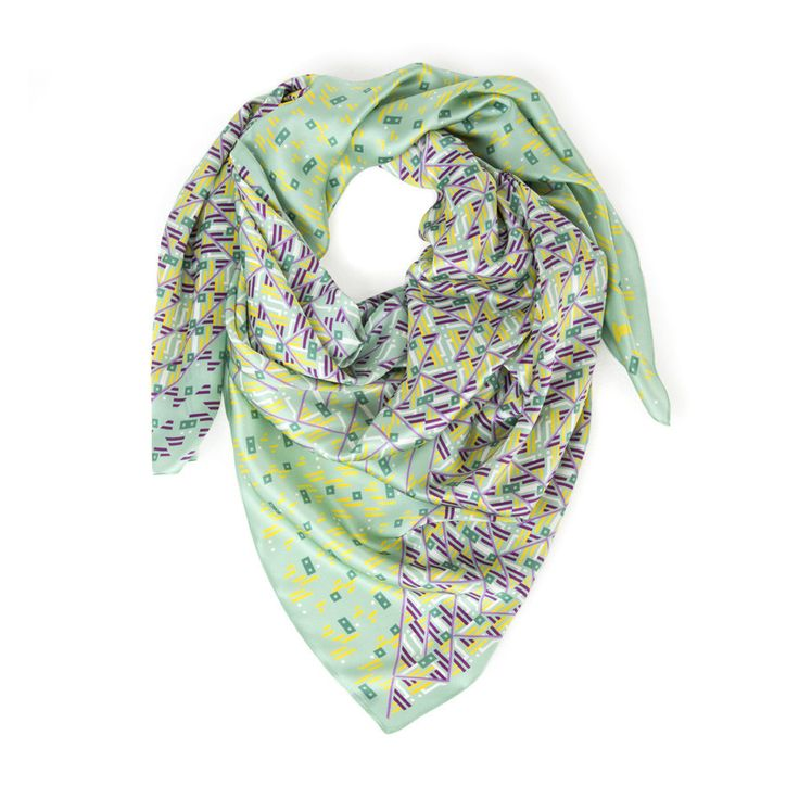 noorsaab   Angelou   Luxury silk scarf