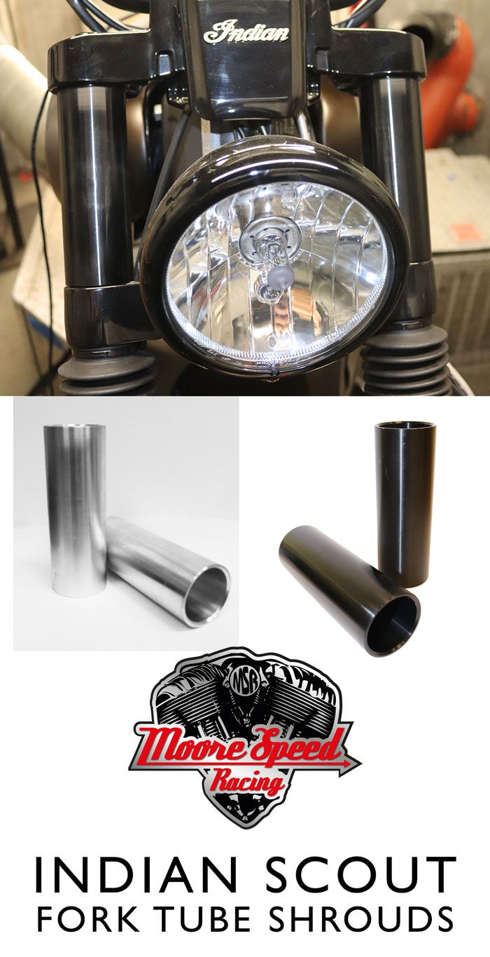 Indian Scout Motorcycle Billet Machined Aluminium Top Fork Tube Covers Fit All Models Of Indian Scout Available I Indian Scout Indian Motorcycle Scout Scout [ 1365 x 700 Pixel ]