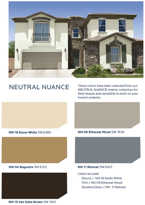 Neutrals Are Combined With The Softest Hints Of Color