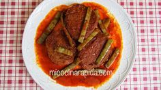 Mi Cocina Rápida: Tortitas de Camarón en Salsa Roja con Nopales