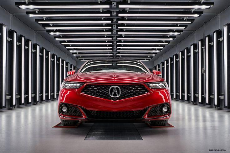 Acura Enthullt Handgefertigte Pmc Edition Tlx Und Mdx Vor Dem New Yorker Debut Video Aktuelle Nachrichten Car Revs Daily Com Acura Tlx Acura Sports Sedan