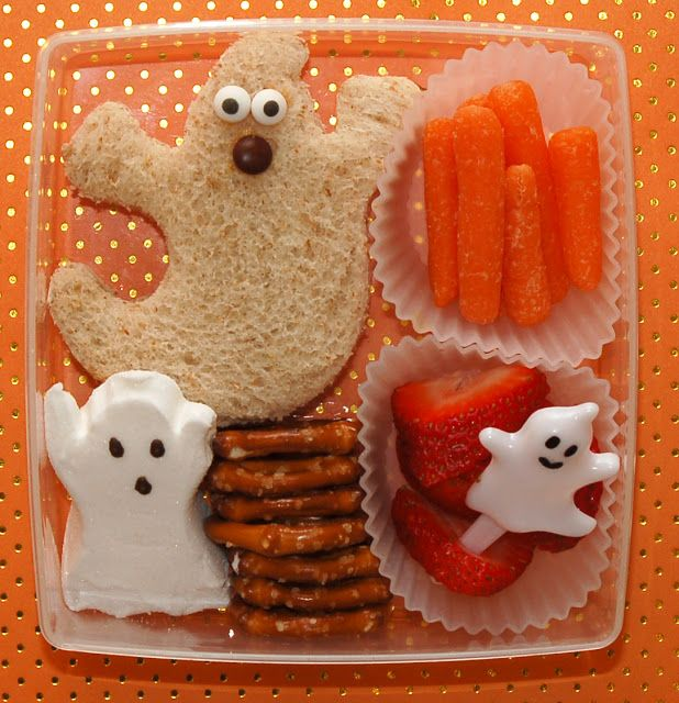 Cookie Cutter Lunch: BOO Bash Bento