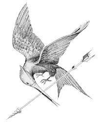 Resultado de imagen de tatuaje  sinsajo