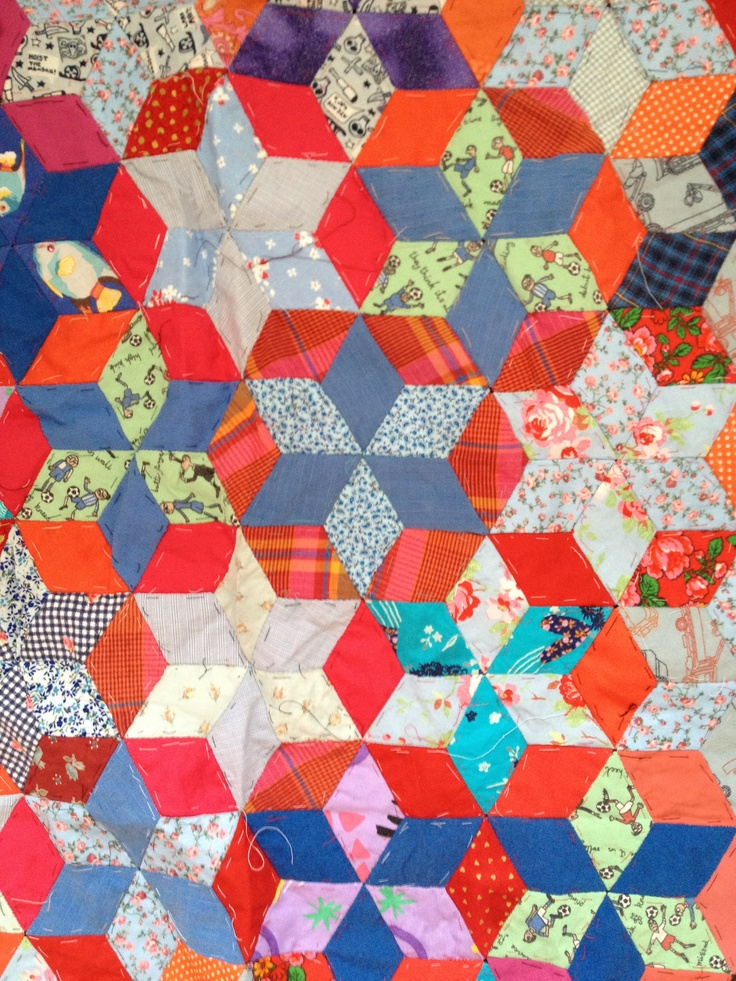 Star repeat patchwork