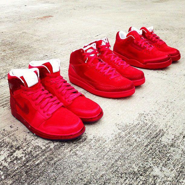 8919c7e8b78b ... all red air jordan legends of the summer pack