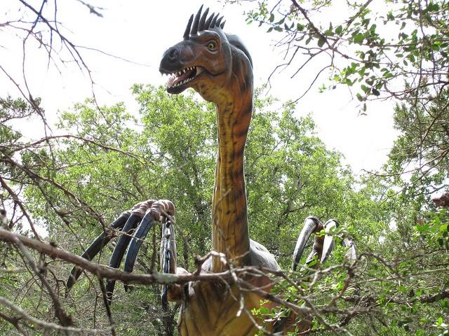 Dinosaur Park Therizinosaurus By Milpool79 Via Flickr
