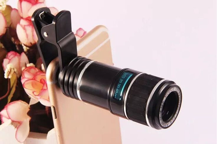 12X Universal Zoom Mobile Phone Clip-on Camera Lens for Cell Phone iPhone 6 #New